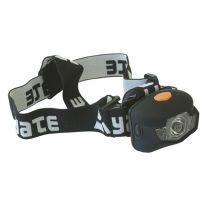 Zvětšit fotografii - Yate 3W CREE+2 LED černá