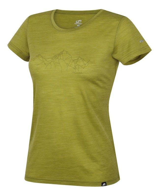 Hannah Valery Lime green 1 dámské triko