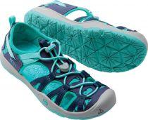 KEEN Moxie Sandal JR Dress blues / Viridian Dívčí sandál