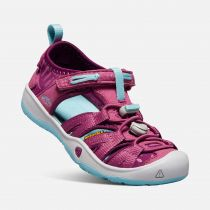KEEN Moxie Sandal JR Red violet / Pastel turquoise