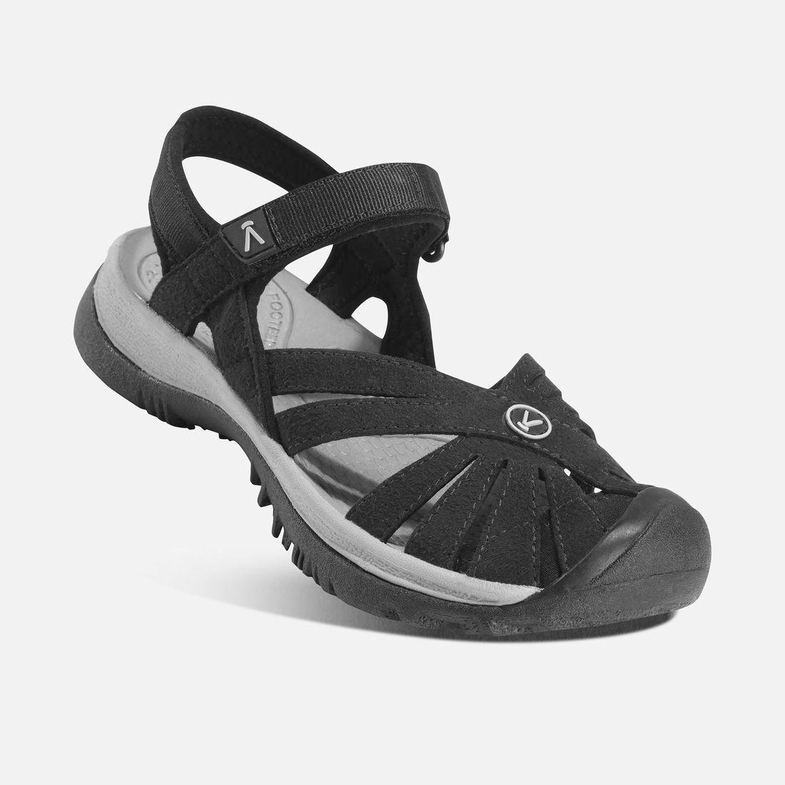 KEEN Rose Sandal W Black / Neutral Gray Dámský sandál