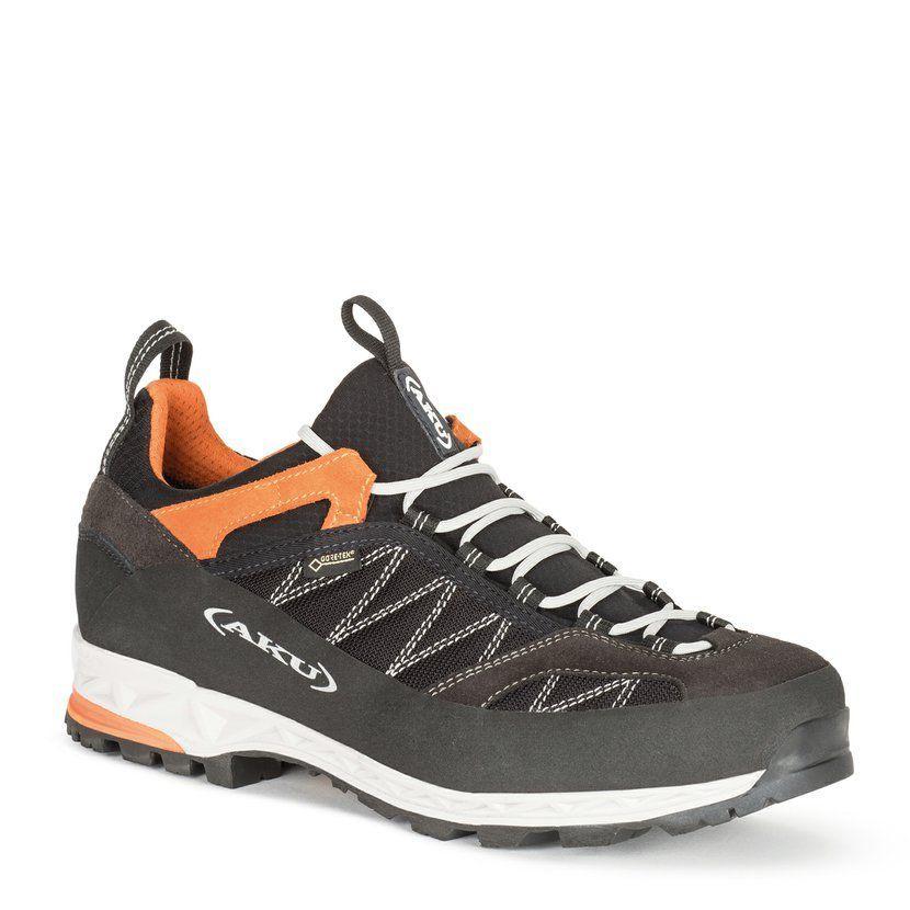 AKU Tengu Low GTX Black-Orange Treková obuv