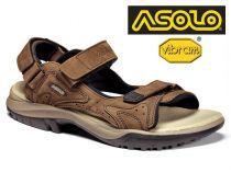 Asolo Metropolis brown trekové sandále