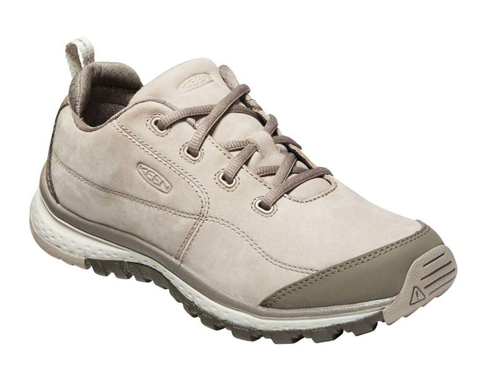 KEEN Terradora Sneaker Leather W Pure Cashmere /Brindle