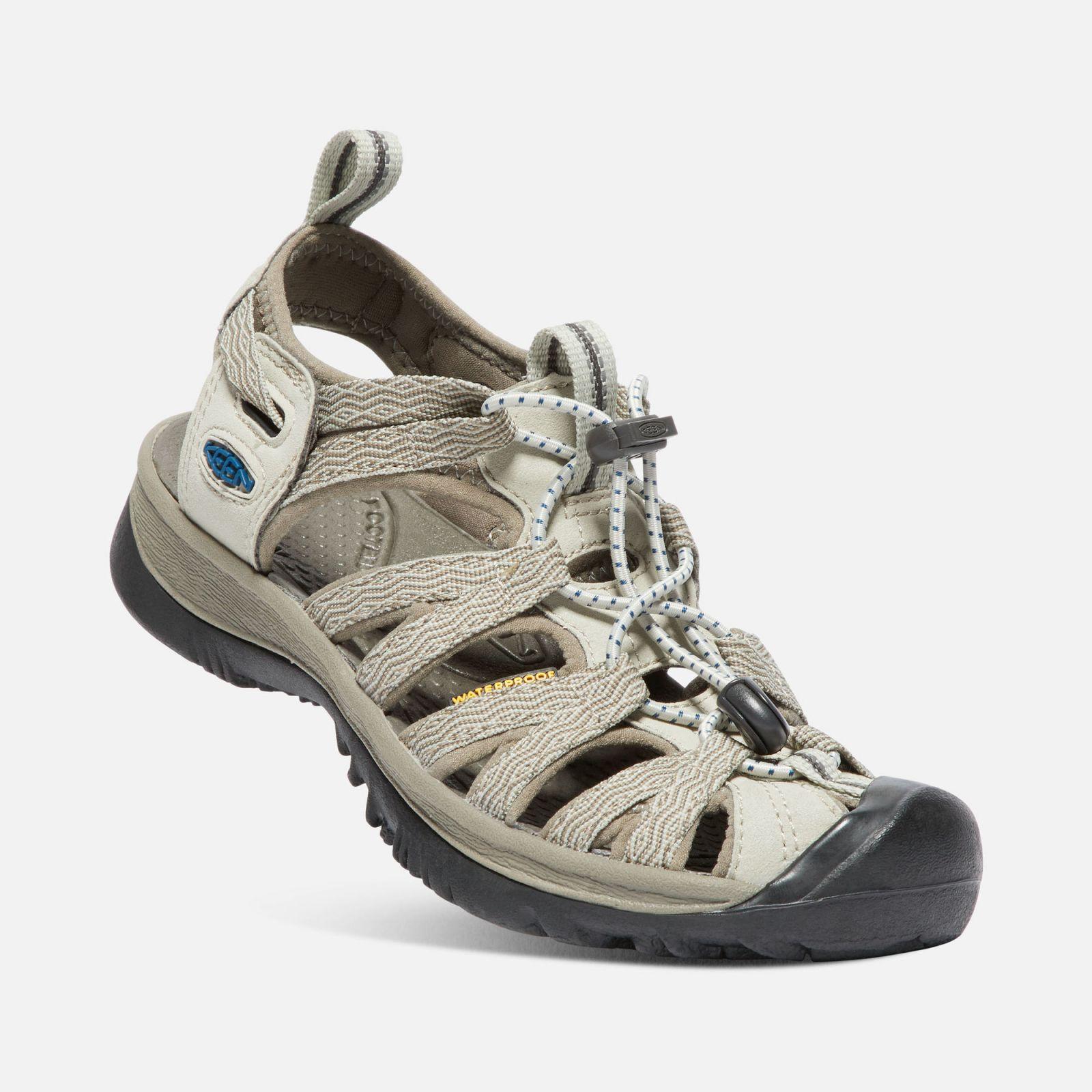 KEEN Whisper W Agate grey / Blue opal dámský sandál