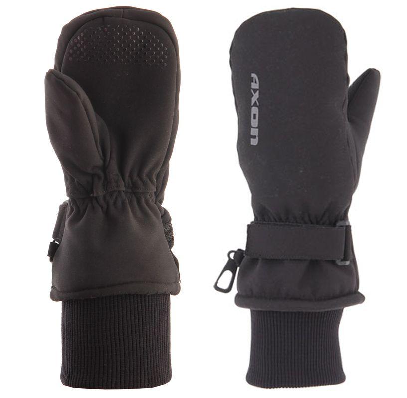 Axon 891 černé dětské lyžařské rukavice