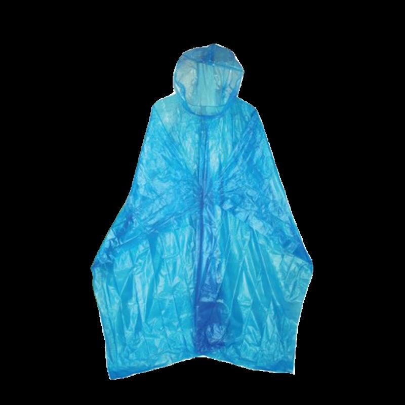 HIGHLANDER Pláštěnka Emergency LDPE pončo modrá