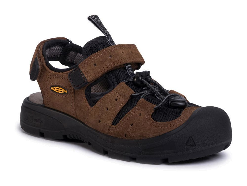 KEEN Balboa EXP Junior Bison / Black Dětský sandál