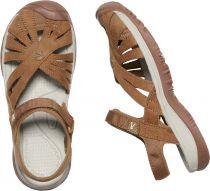 KEEN Rose Sandal W Tan Dámský kožený sandál