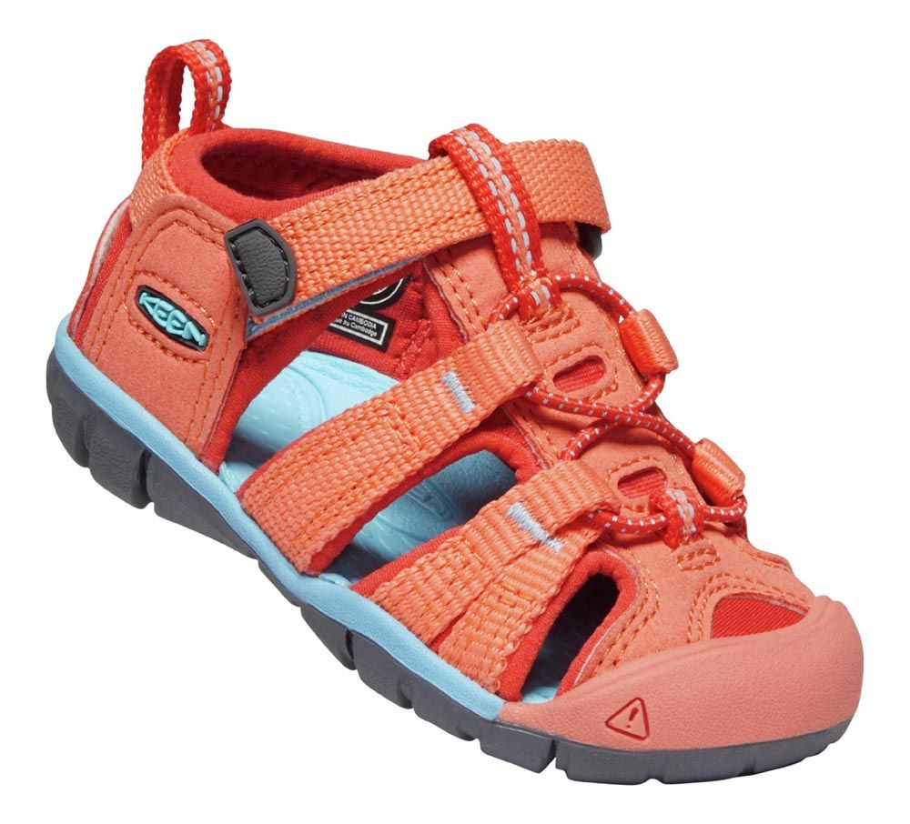 KEEN Seacamp ll CNX Coral / Poppy Red