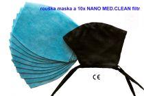 Nano Medical NANO MED.CLEAN rouška maska + 10x NANO MED.CLEAN filtr