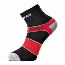Progress Cycling cyklistické ponožky černá/červená