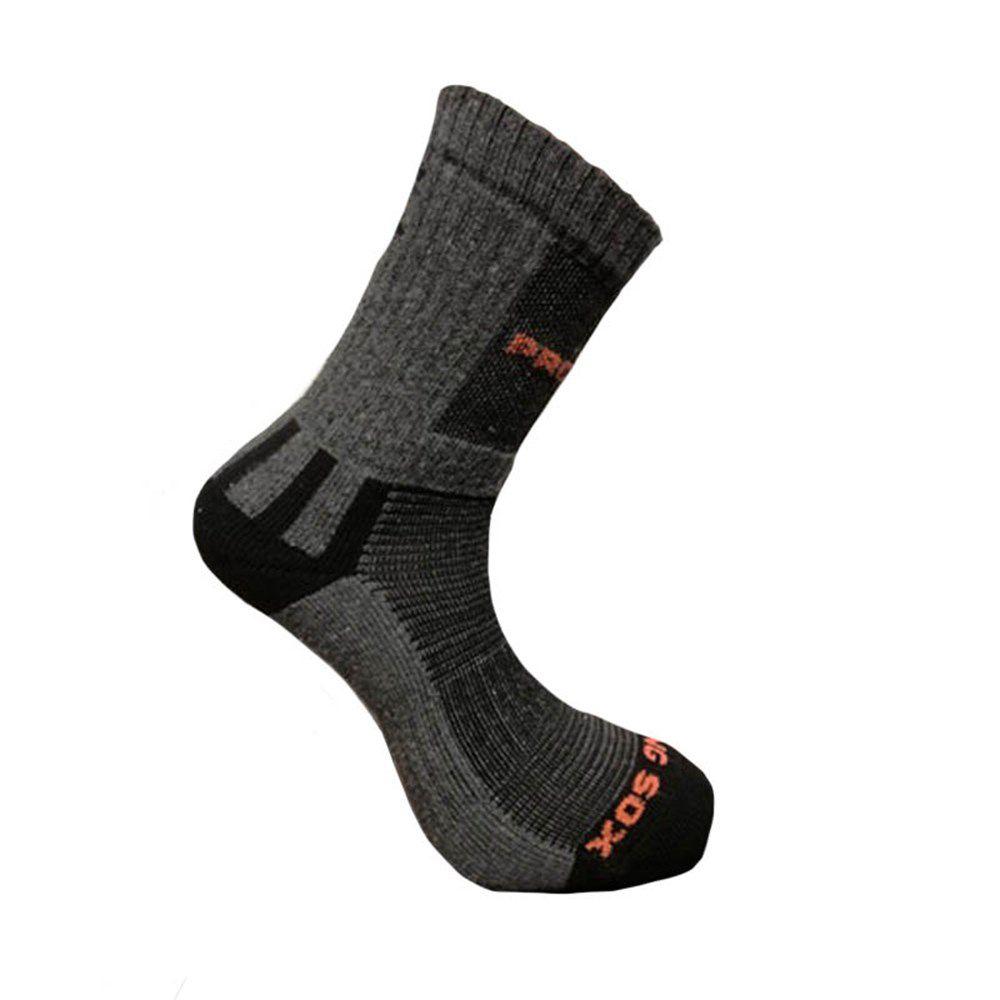 Progress Hiking Sox turistické ponožky šedé