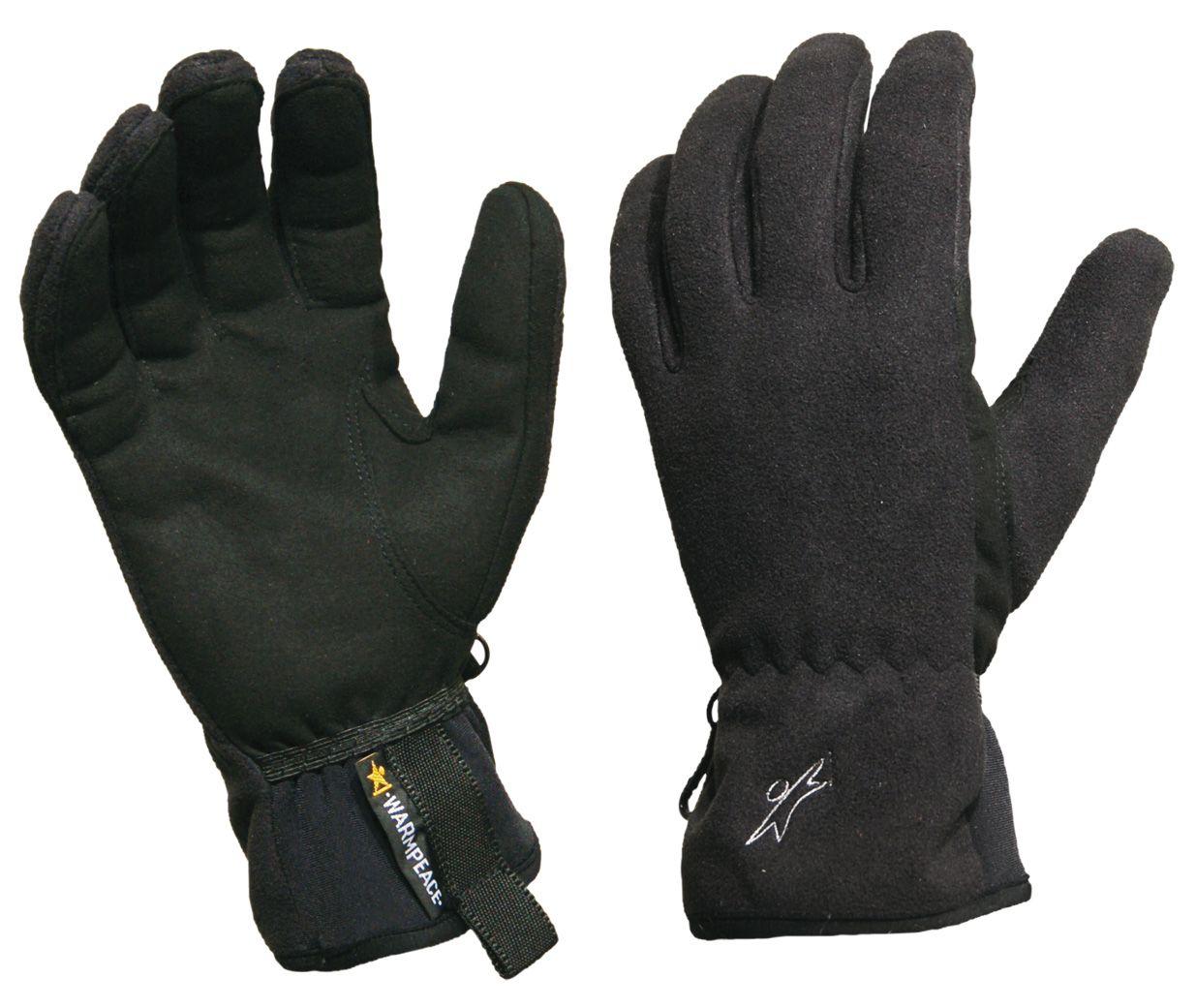 Warmpeace Finstorm black rukavice