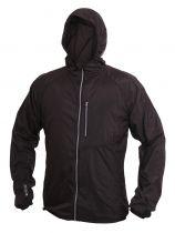 Warmpeace Forte raven black ultralehká bunda celopropínací Unisex