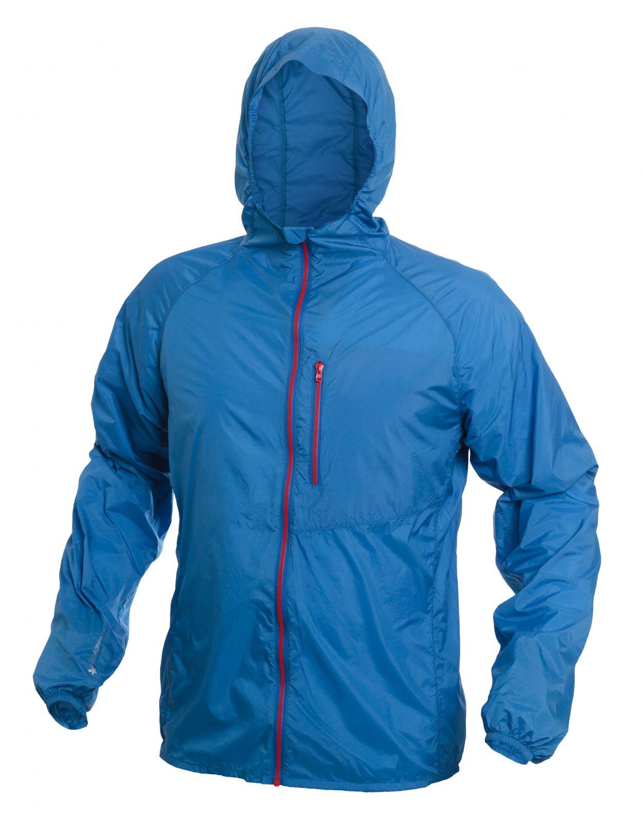 Warmpeace Forte strong blue ultralehká bunda celopropínací Unisex