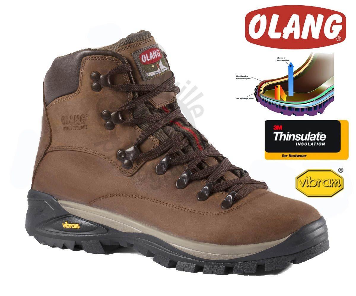 Olang Alabama Thinsulate Cuoio zimní zateplená obuv