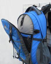 Batoh SAHARA 32 šedá / černá + pouzdro na notebook Corazon