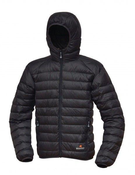 Warmpeace Nordvik black péřová bunda