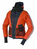 Warmpeace Calgary Lady Primaloft dámské ultralehká zimní bunda antracit/redwood