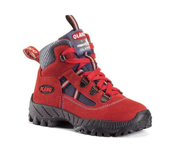 Olang Cortina Kid Rosso dětská treková bota