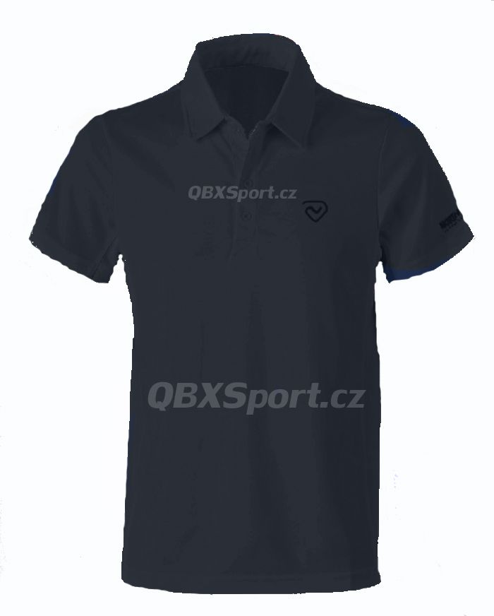 Pánské funkční triko s límečkem Northland Cooldry Gregor Polo Shirt black