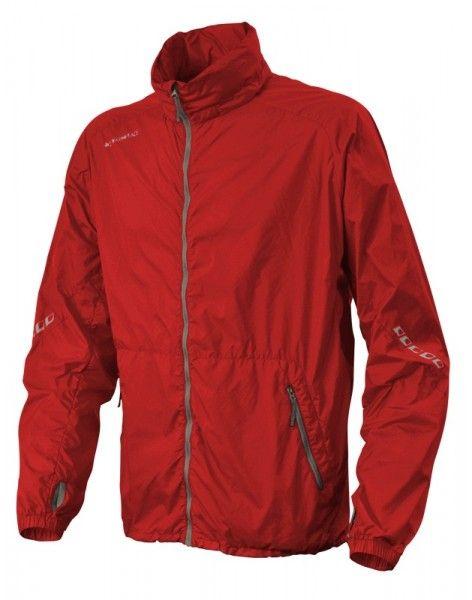 Warmpeace Speed flag red Ultralehká bunda celopropínací Unisex