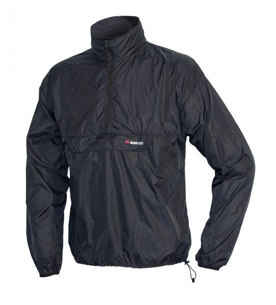 Warmpeace Escape black Ultralehká bunda přes hlavu Unisex