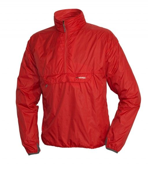 Warmpeace Escape flag red Ultralehká bunda přes hlavu Unisex