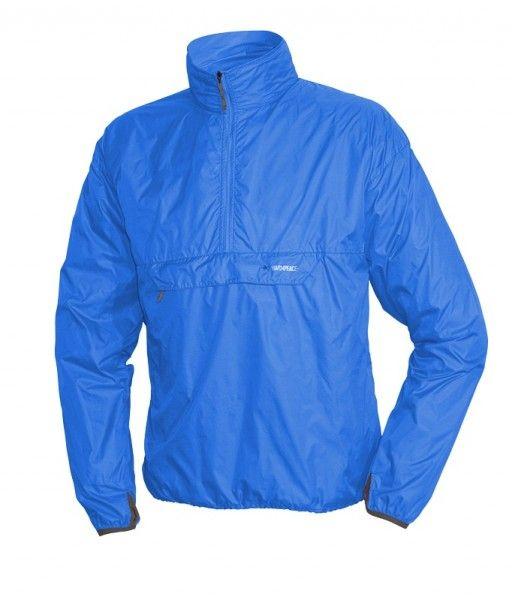 Warmpeace Escape sky blue Ultralehká bunda přes hlavu Unisex