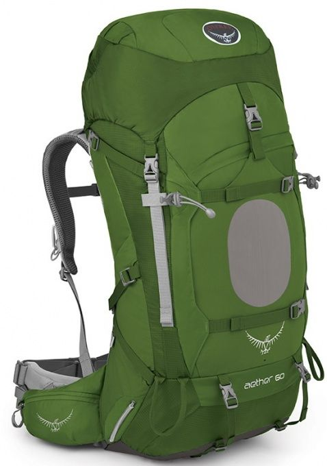 Osprey Aether 60 III Bonsai Green TOP batoh