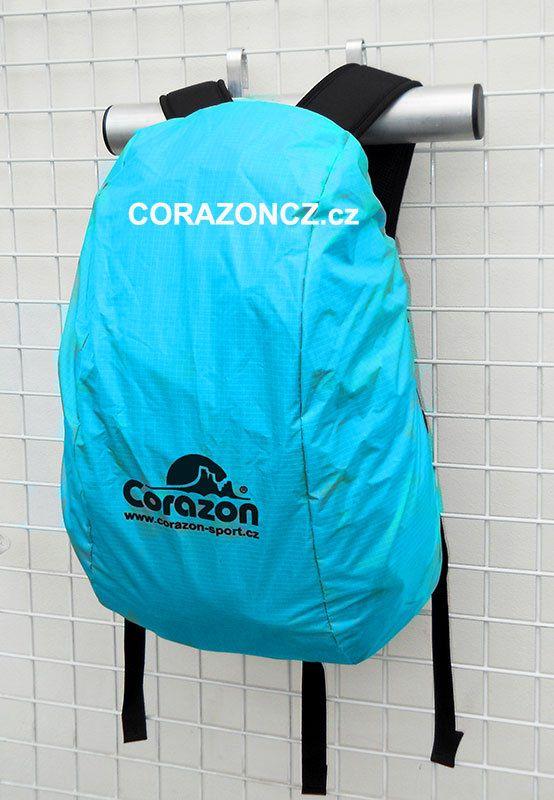 Corazon pláštěnka na batohy 28-35 litrů PLÁŠTĚNKA STŘEDNÍ sv. modrá