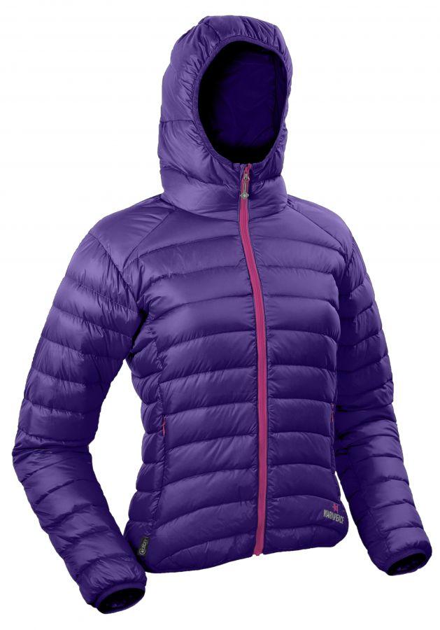 Warmpeace Vikina lady violet / berry dámská péřová bunda