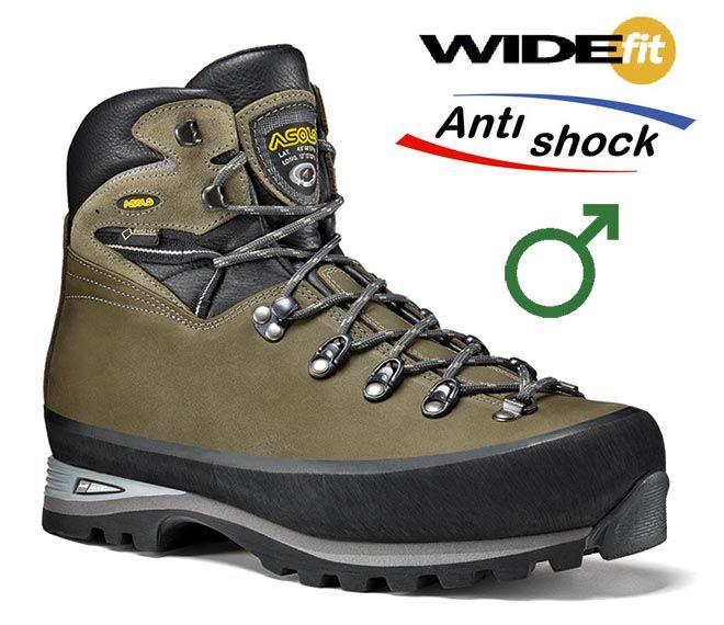 Asolo Trekker GV MW tundra pánská bota pro těžký trek a VHT