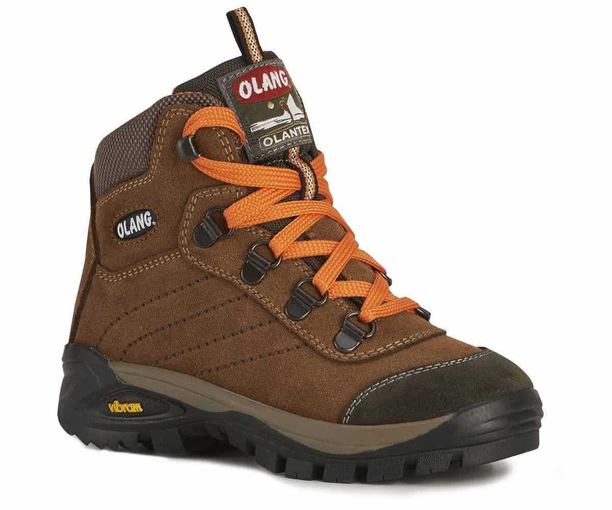 Olang Asiago Kid Cuoio dětská celokožená obuv