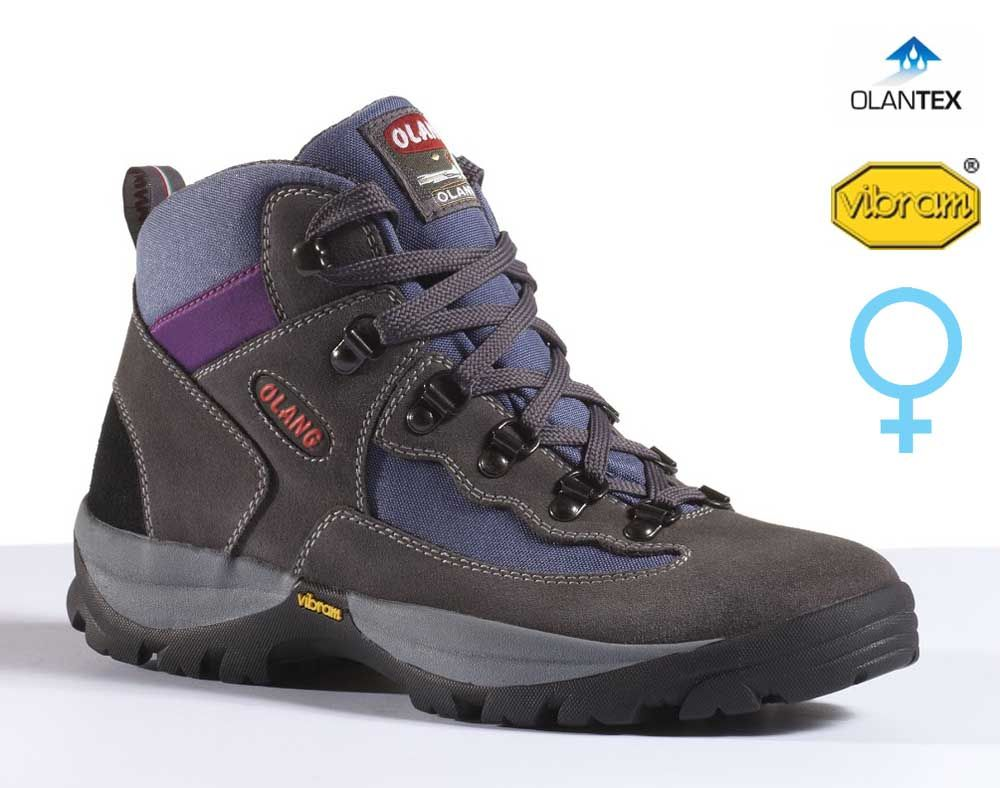 Olang Gottardo Asfalto dámská středně vysoká treková bota