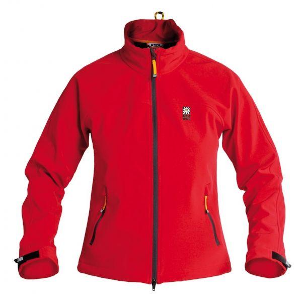 Rejoice Thyme červená softshellová celopropínací bunda
