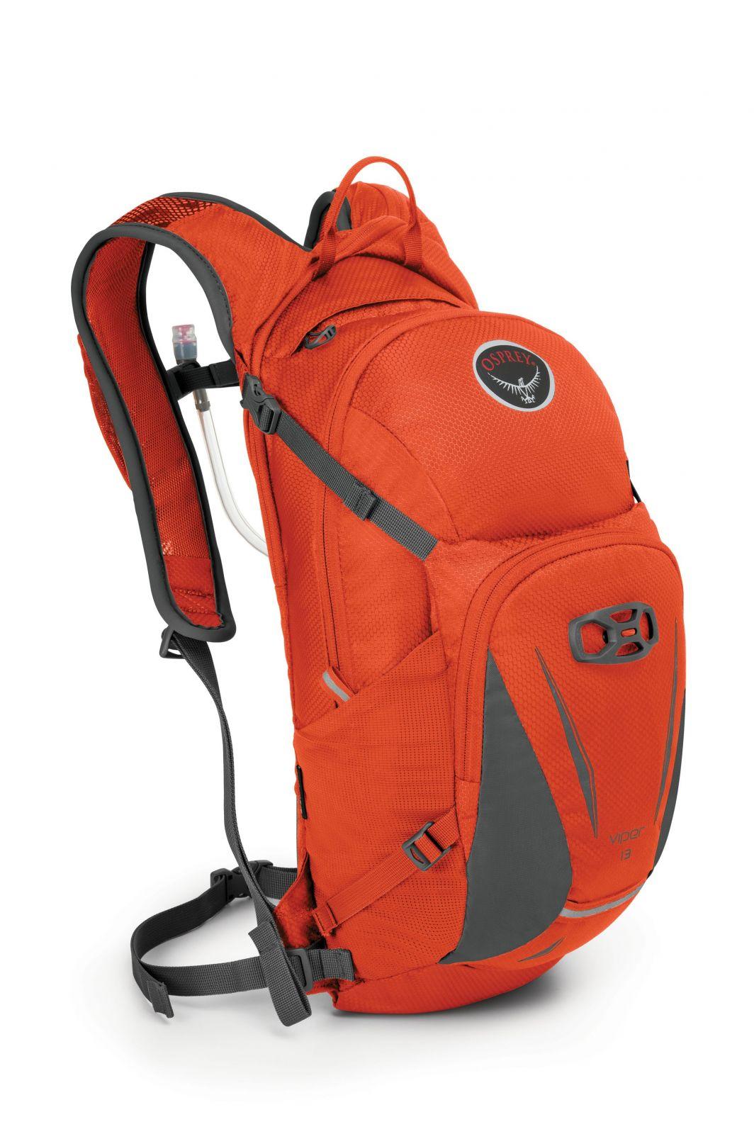 OSPREY Viper 13 Blaze Orange cyklistický batoh s 2,5l vodním rezervoárem