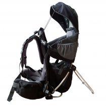 Corazon Panda Černá dětská sedačka, výborný poměr cena kvalita