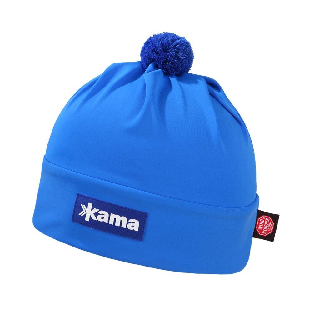 Kama AW45 Windstopper Běžecká čepice modrá