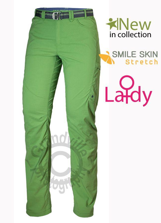 Warmpeace Comet Lady Grass Dámské lehké kalhoty