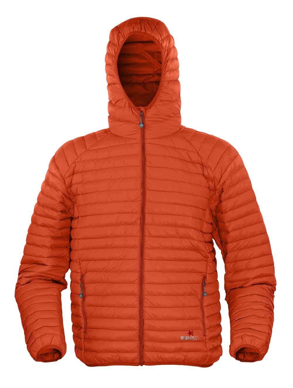 Warmpeace Nordvik HD orange péřová bunda