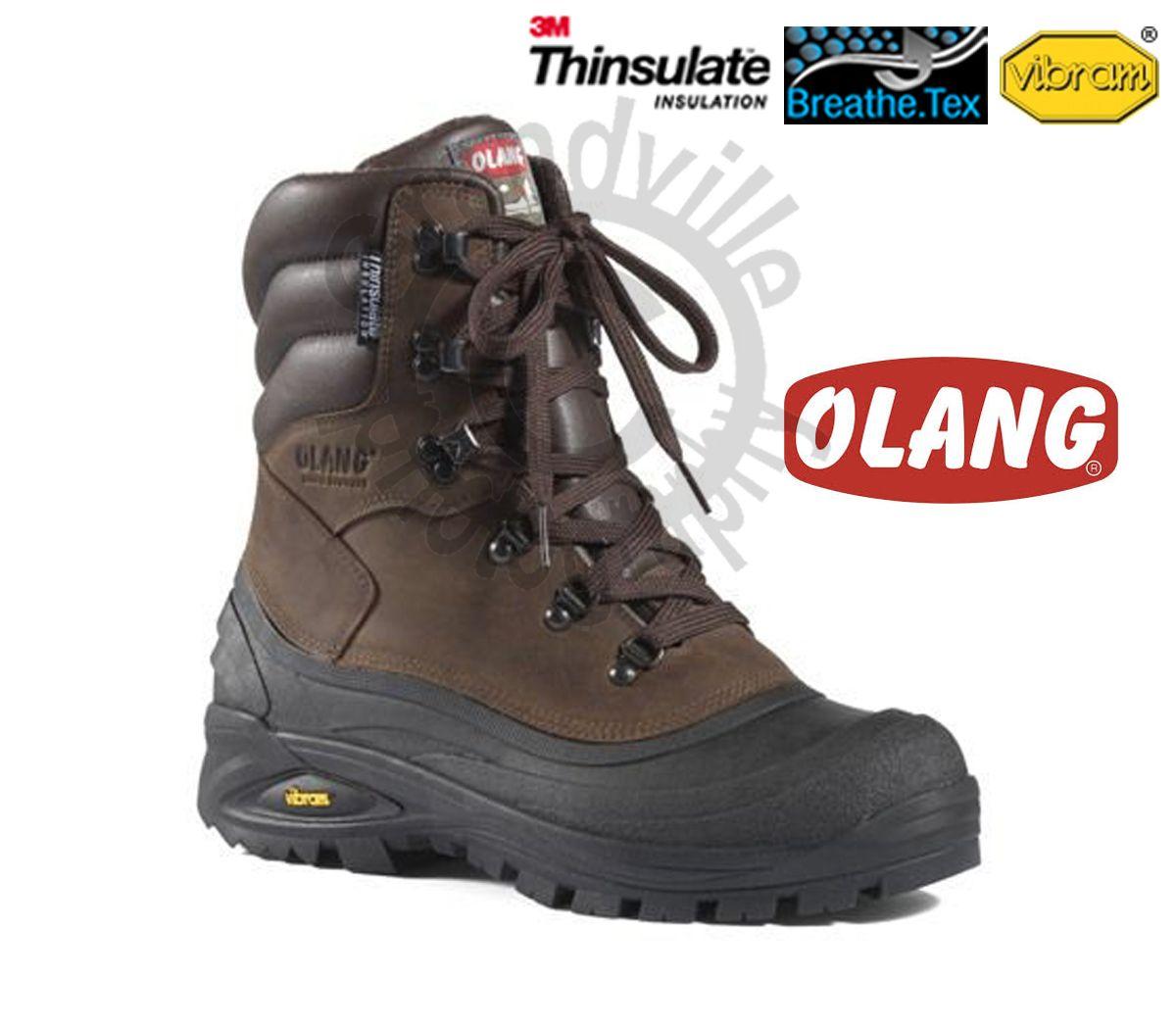Olang Titanio Cuoio Zímní zateplená obuv