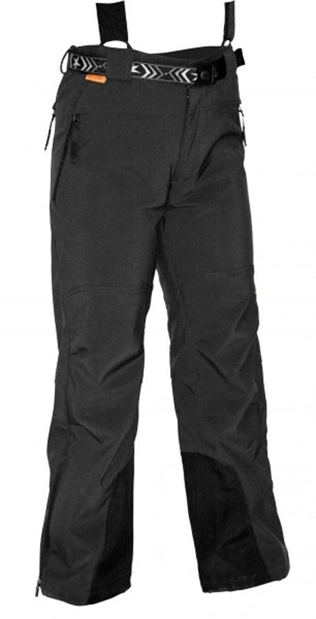 Warmpeace Kony kalhoty black dětské technické softsellové kalhoty