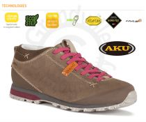 AKU Bellamont Suede GTX Sand / Strawberry Outdoorová obuv