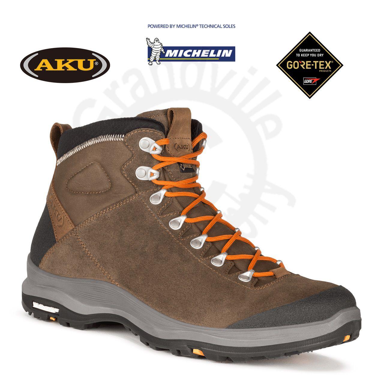 AKU La Val GTX Brown Treková obuv