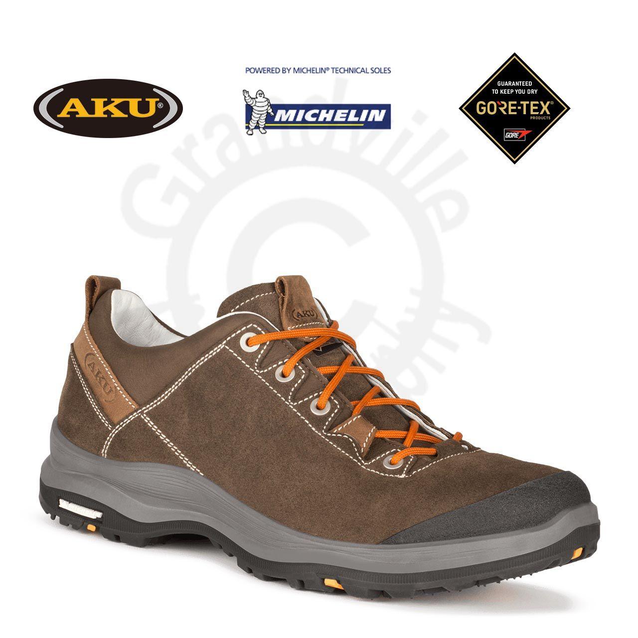 AKU La Val Low GTX Brown Treková obuv