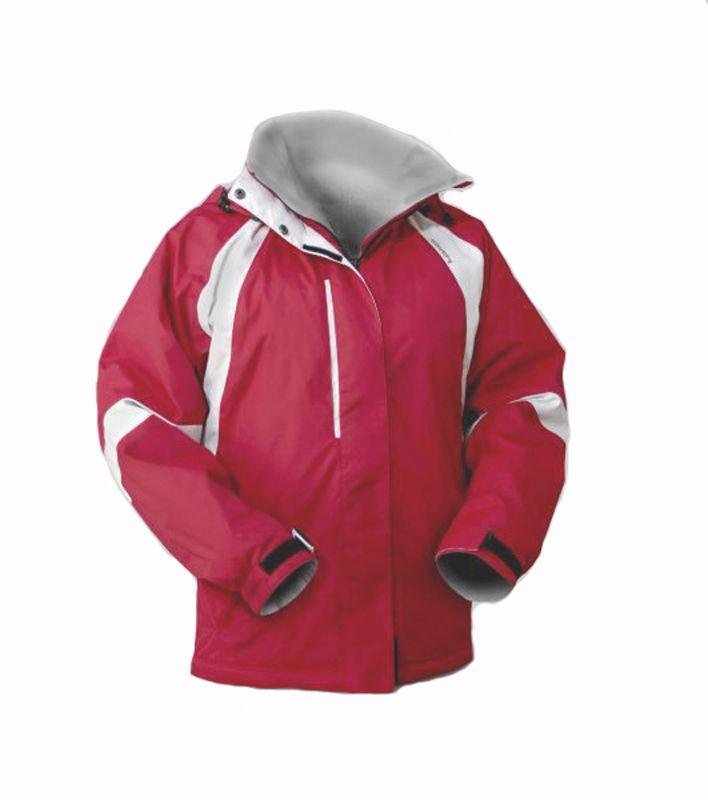 Cavery Maya Blody Red / Cloudy dámská zimní bunda Hannah